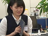 Haruka Miura endures rough sex in group at work picture 10